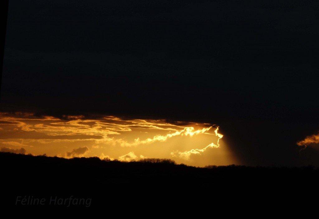 nuage monstre orange