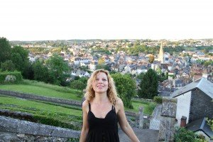 Féline Harfang célèbre l'été 2016 à la Bonne Dame d'Argenton sur Creuse