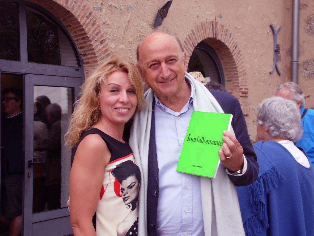 féline et Pierre Bonte à Gargilesse dimanche 25 septembre 2016