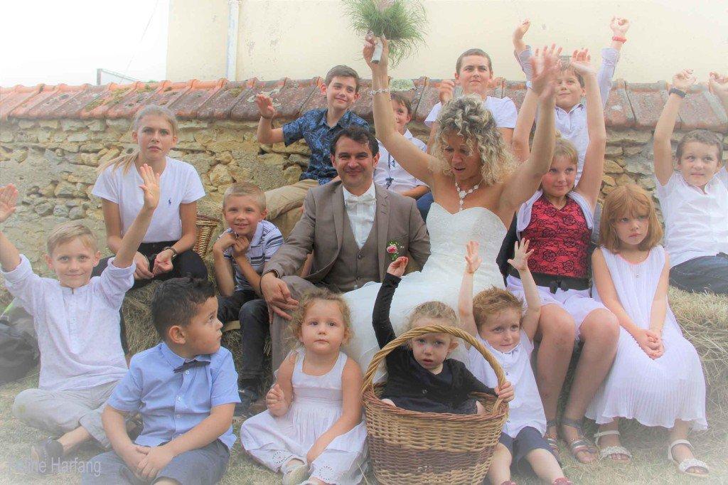 et ils eurent beaucoup d'enfants - photo Féline Harfang - mariage de Laurence et Christophe 5 août 2017