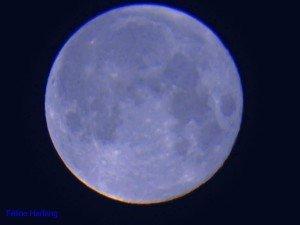 la lune bleue du 31 janvier 2018