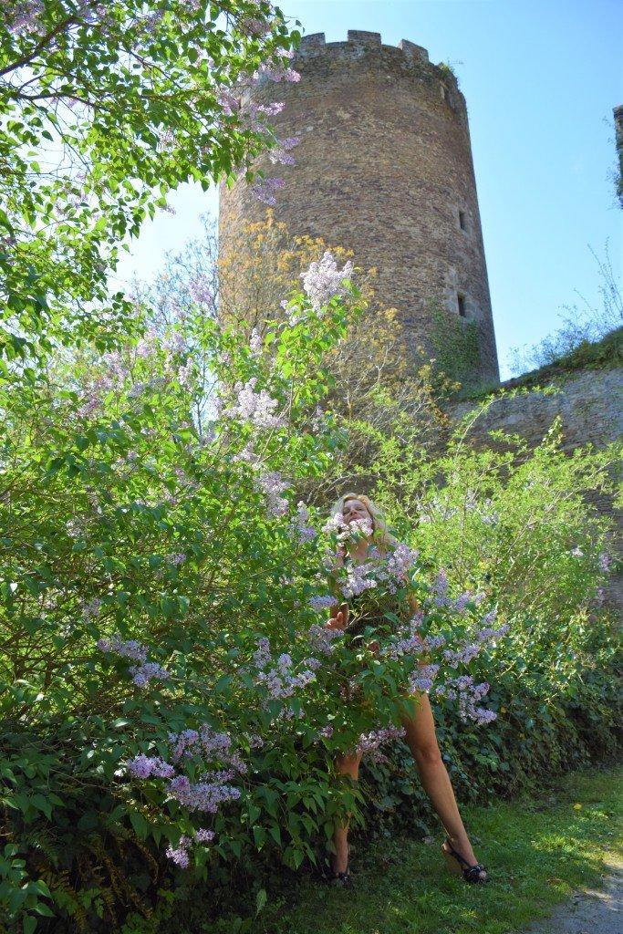 sous les lilas parme de châteaubrun