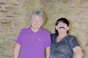 Thierry Breton et Guy Baudat à Châteaubrun le 21 septembre 2019